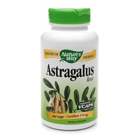 Nature's Way Astragalus Root, Veggie Capsules - 180 ea