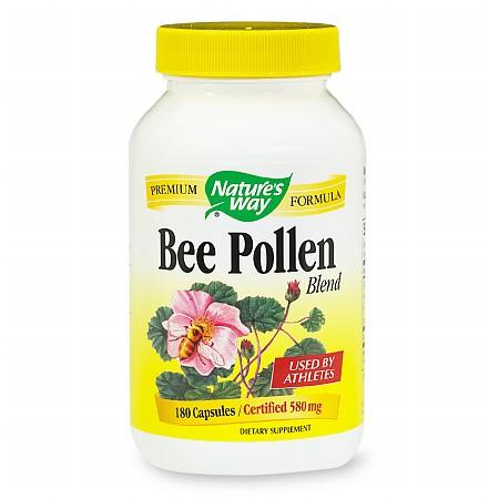Nature's Way Bee Pollen Blend, Capsules - 180 ea