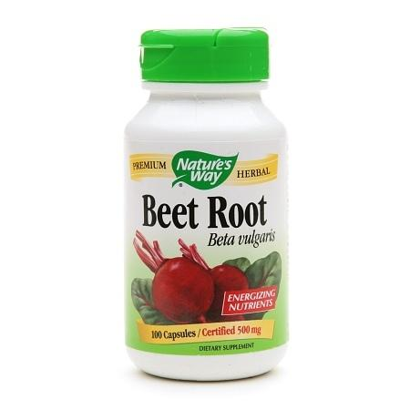 Nature's Way Beet Root 500mg, Capsules - 100 ea