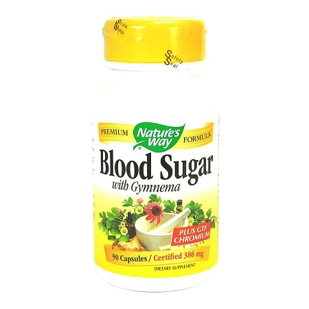Nature's Way Blood Sugar with Gymnema, Capsules - 90 ea