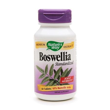 Nature's Way Boswellia Standardized, Tablets - 60 ea