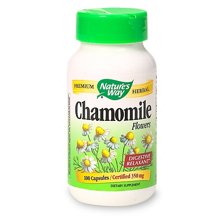 Nature's Way Chamomile Flowers, Capsules - 100 ea
