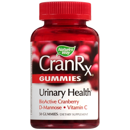 Nature's Way CranRX Gummies - 50 ea