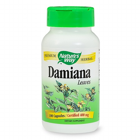 Nature's Way Damiana Leaves, Capsules - 100 ea