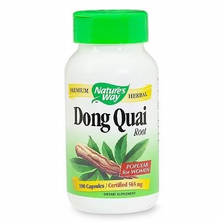 Nature's Way Dong Quai Root, Capsules - 100 ea
