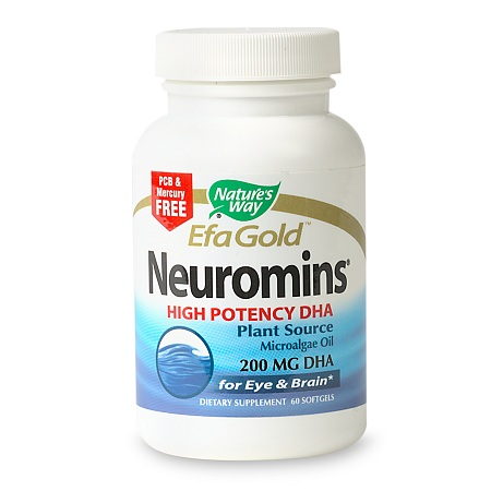 Nature's Way EfaGold Neuromins DHA 200 mg Dietary Supplement Softgels - 60 ea