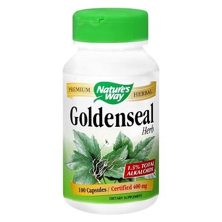 Nature's Way Goldenseal 400 mg Dietary Supplement Capsules - 100 ea