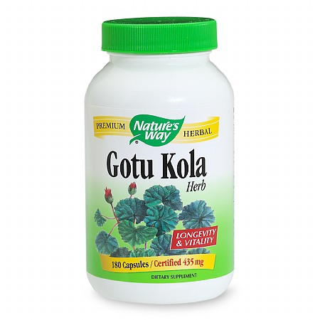 Nature's Way Gotu Kola 435mg, Capsules - 180 ea