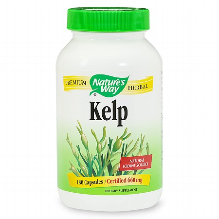 Nature's Way Kelp 660 mg Dietary Supplement - 180 ea