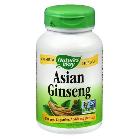 Nature's Way Korean Ginseng Root 560 mg Dietary Supplement - 100 ea