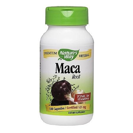Nature's Way Maca Root, 525mg Capsules - 100 ea