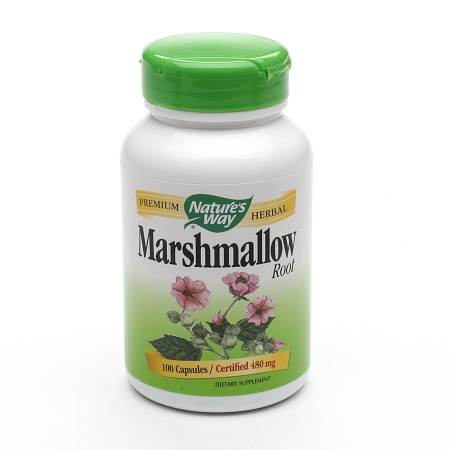 Nature's Way Marshmallow Root 455mg, Capsules - 100 ea