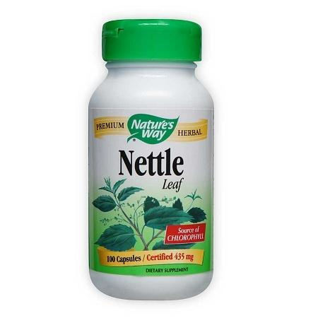 Nature's Way Nettle Leaf 435 mg Dietary Supplement Capsules - 100 ea