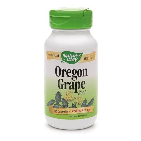 Nature's Way Oregon Grape Root, Capsules - 100 ea