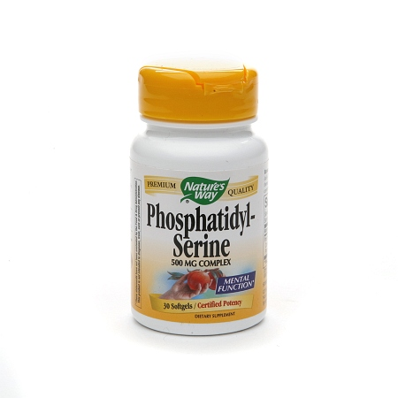 Nature's Way Phosphatidyl-Serine, 500mg, Softgels - 30 ea