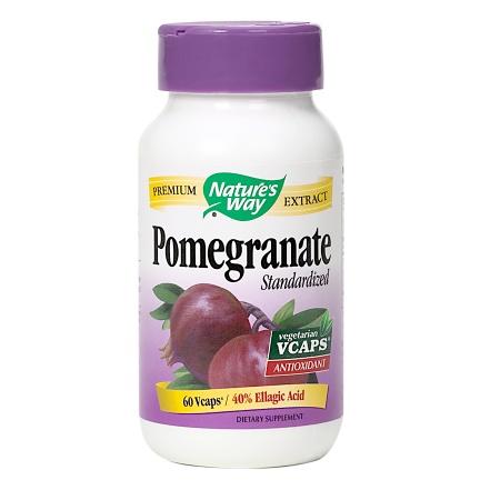 Nature's Way Pomegranate Standardized, Vcaps - 60 ea