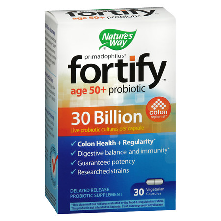 Nature's Way Primadophilus Fortify Age 50+ - 30 ea