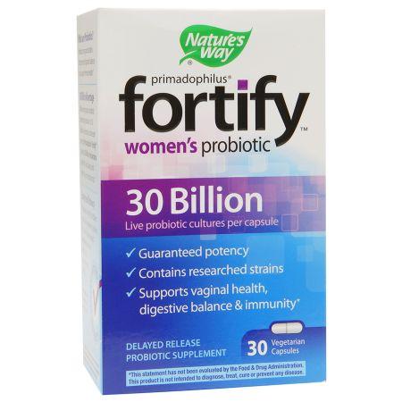 Nature's Way Primadophilus Fortify Women's Probiotic 30 Billion, Vegetarian Capsules - 30 ea