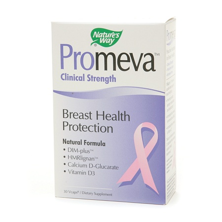 Nature's Way Promeva Clinical Strength Breast Health Protection, VCaps - 30 ea