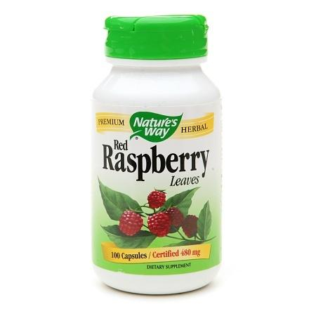 Nature's Way Red Raspberry Leaves 480mg, Capsules - 100 ea