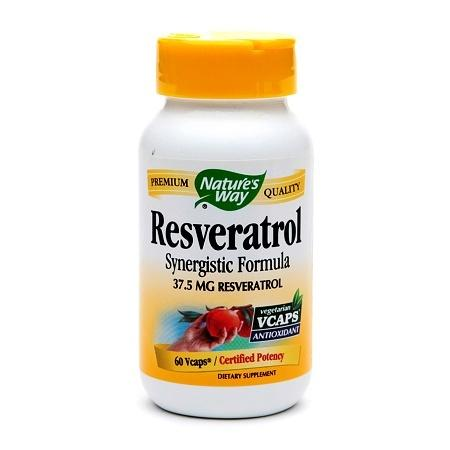 Nature's Way Resveratrol 37.5mg, VCaps - 60 ea