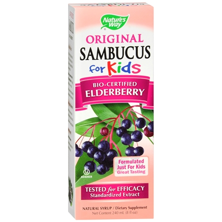 Nature's Way Sambucus for Kids Dietary Supplement Syrup Berry - 8 fl oz