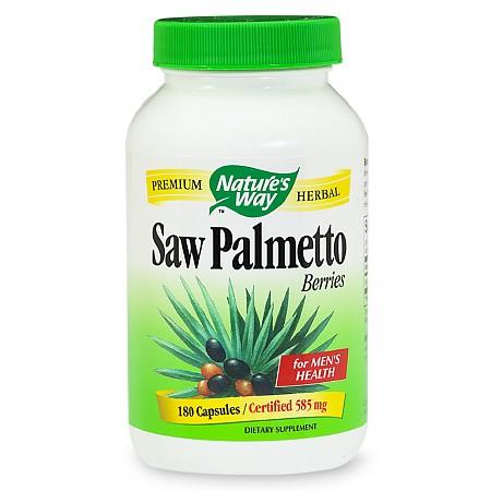 Nature's Way Saw Palmetto Berries, Capsules - 180 ea