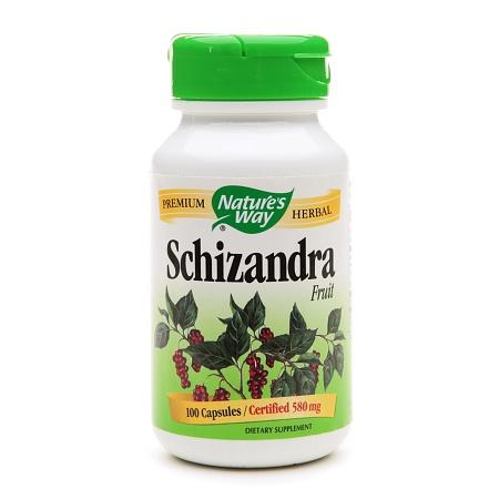 Nature's Way Schizandra Fruit 580mg, Capsules - 100 ea