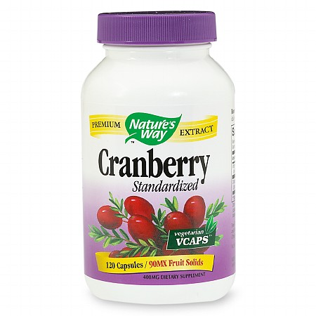 Nature's Way Standardized Cranberry 465mg VCaps - 120 ea
