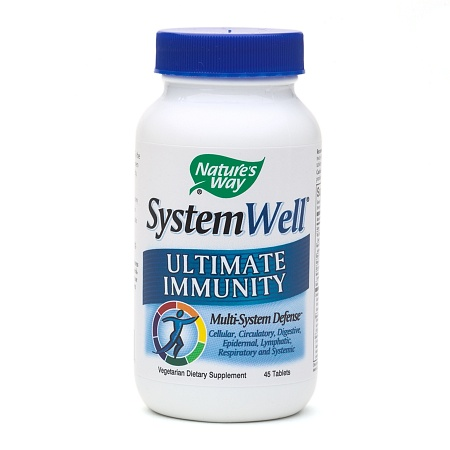 Nature's Way SystemWell Ultimate Immunity, Multi-System Defense Tablets - 45 ea