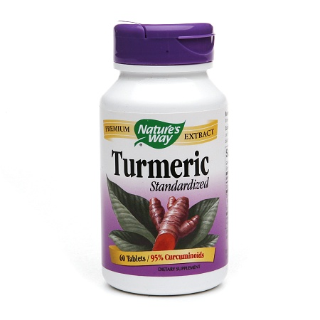 Nature's Way Turmeric Standardized Dietary Supplement Tablets - 60 ea