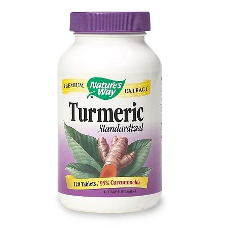 Nature's Way Turmeric Tablets - 120 ea