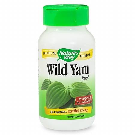 Nature's Way Wild Yam Root, 425 mg, Capsules - 100 ea