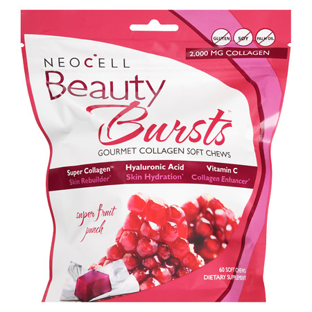 NeoCell Beauty Burst Collagen Soft Chews Fruit Punch - 60 ea