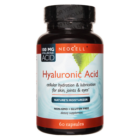 NeoCell Hyaluronic Acid, Capsules - 60 ea