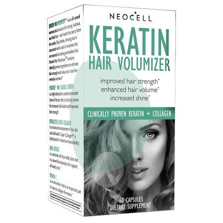 NeoCell Keratin Hair Volumizer Tablets - 60 ea