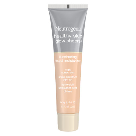 Neutrogena Healthy Skin Glow Sheers Illuminating Tinted Moisturizer with Sunscreen SPF 30 - 1.1 fl oz