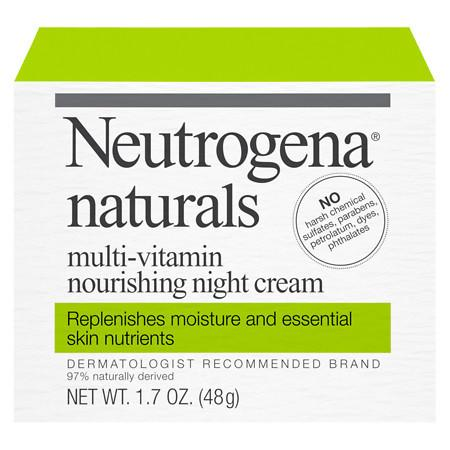Neutrogena Naturals Multivitamin Nourishing Night Cream - 1.7 oz.