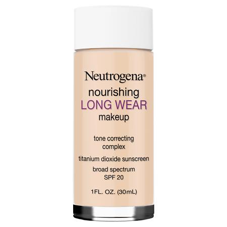Neutrogena Nourishing Longwear Makeup, SPF 20 - 1 fl oz