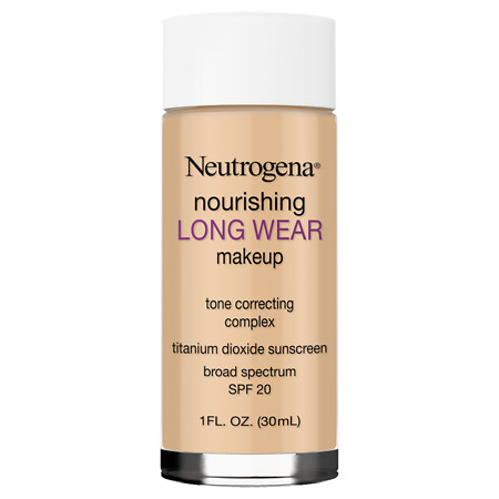 Neutrogena Nourishing Longwear Makeup, SPF 20 - 1 oz.