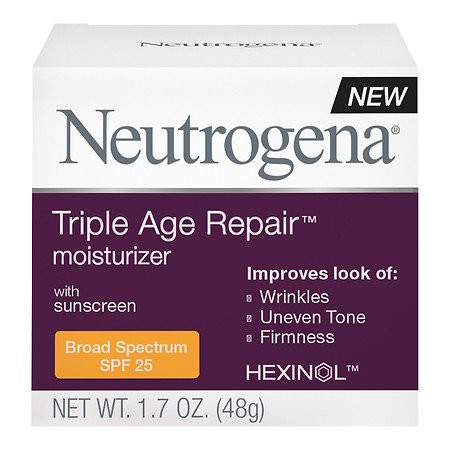 Neutrogena Triple Repair Moisturizer, SPF 25 - 2 oz.
