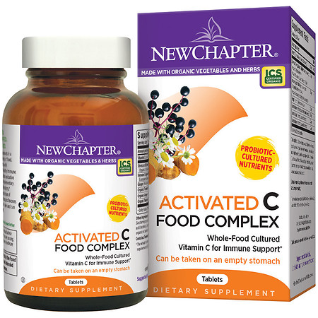 New Chapter Activated C Food Complex, Tablets - 90 ea