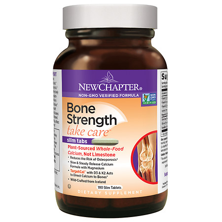 New Chapter Bone Strength Take Care, Slimline Tablets - 180 ea