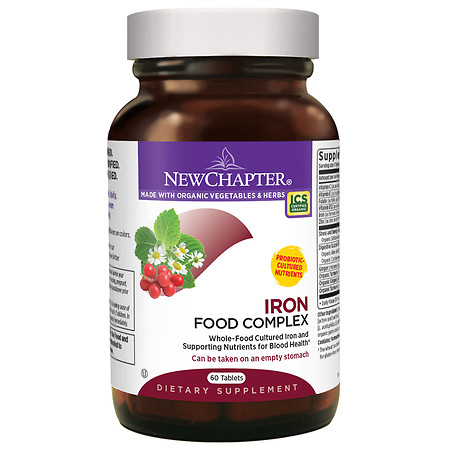 New Chapter Every Woman's Iron Support, Tablets - 60 ea