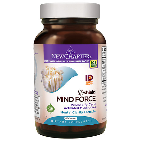 New Chapter LifeShield Mind Force, Capsules - 60 ea