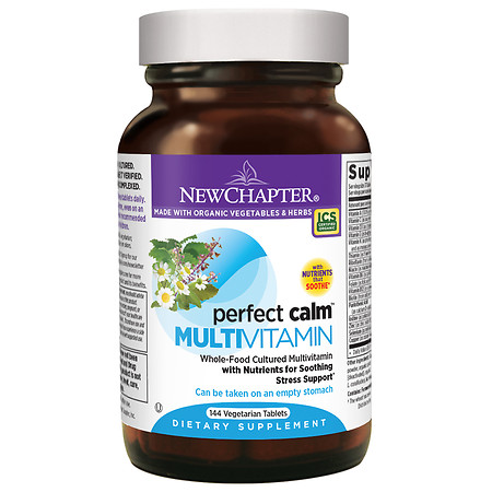 New Chapter Perfect Calm Multi Vitamin, Tablets - 144 ea