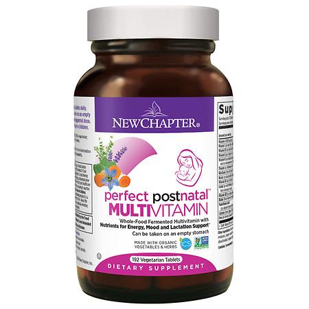 New Chapter Perfect Postnatal Multivitamin, Tablets - 192 ea