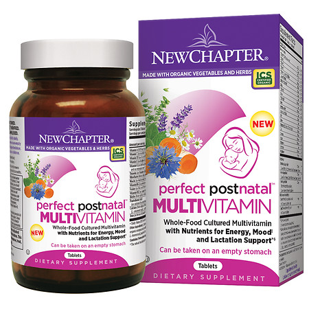 New Chapter Perfect Postnatal Multivitamin, Tablets - 96 ea