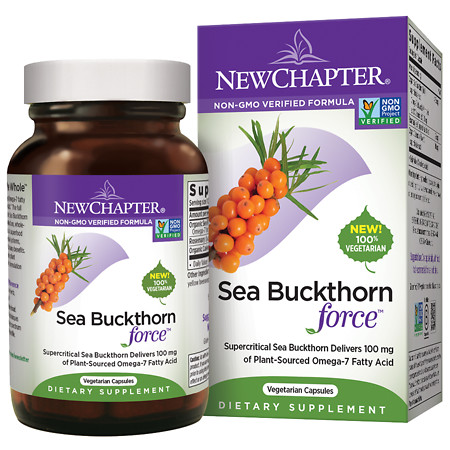 New Chapter Sea Buckthorn Force - 60 ea