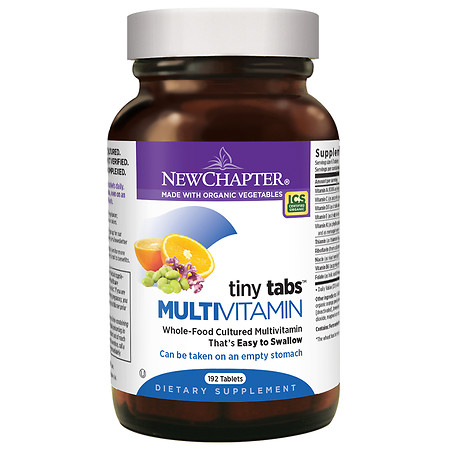 New Chapter Tiny Tabs, Multivitamin Tablets - 192 ea